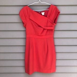 J. Crew 4P / 4 petite red professional dress